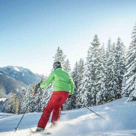 Skifahren Spitzingsee, © Dietmar Denger