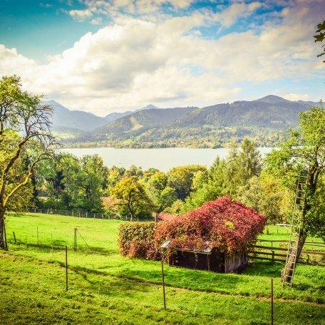 Herbst in Oberbayern am Tegernsee, © Florian Liebenstein