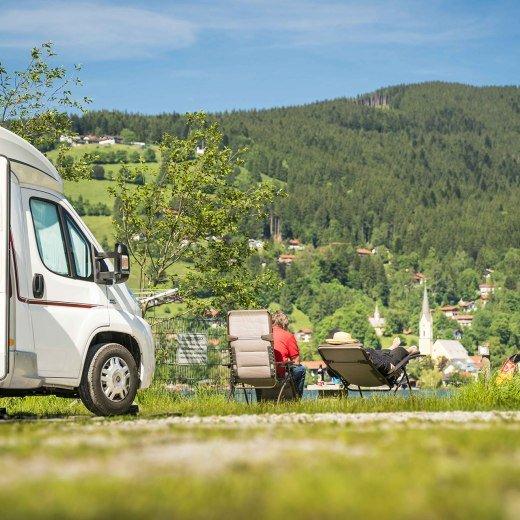 Campingplatz am Schliersee, © Dietmar Denger