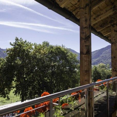 Blick vom Balkon, © im-web.de/ Gäste-Information Schliersee in der vitalwelt schliersee