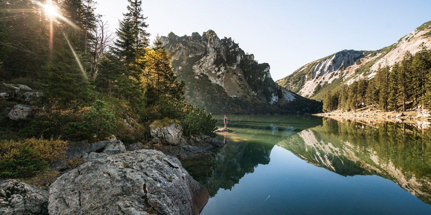 Wandern Soinsee, © Peter von Felbert
