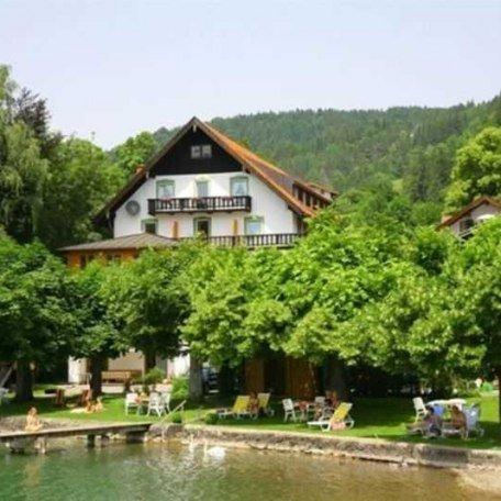 Ansicht von der Seeseite, © im-web.de/ Gäste-Information Schliersee in der vitalwelt schliersee