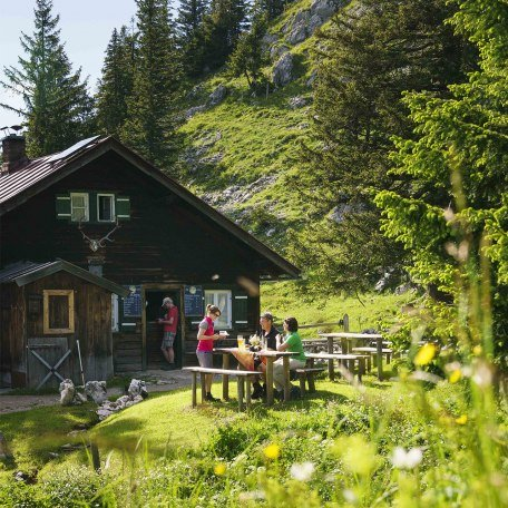 Entdecken Sie idyllische Almhütten rund um Schliersee und Tegenrsee, © Dietmar Denger