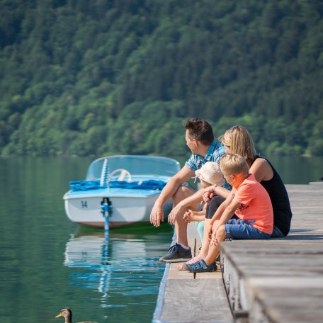 Familie am Schliersee, © Dietmar Denger