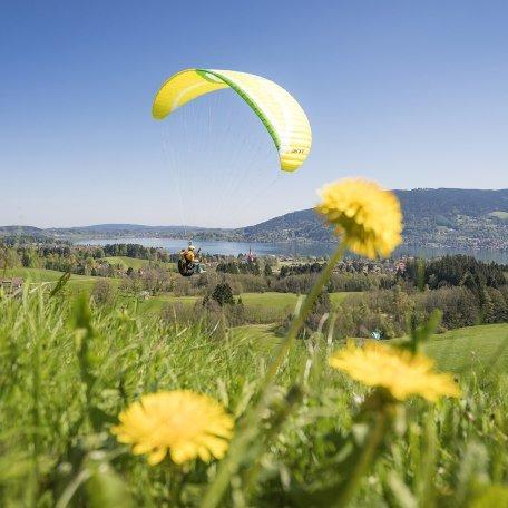 Gleitschirm Oberbayern Tegernsee, © Dietmar Denger