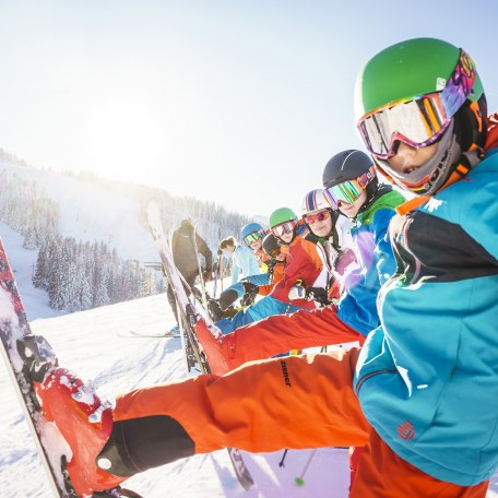 Kinder Skifahren Sudelfeld, © Dietmar Denger