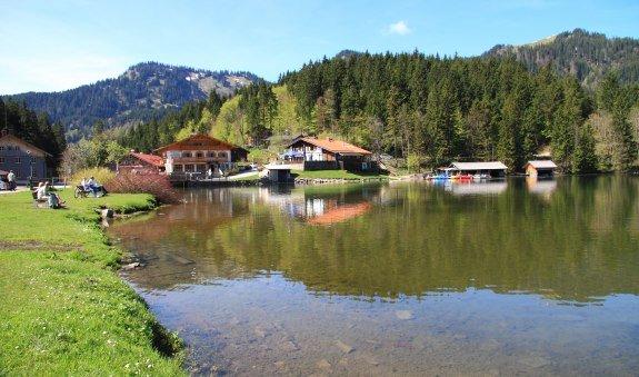 4 Tage Hüttenwanderung von Bad Wiessee über die Blauberge an den Spitzingsee, © Holger Wernet