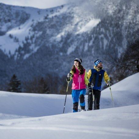 Winterwandern Schneeschuh Bayern, © Hansi Heckmair