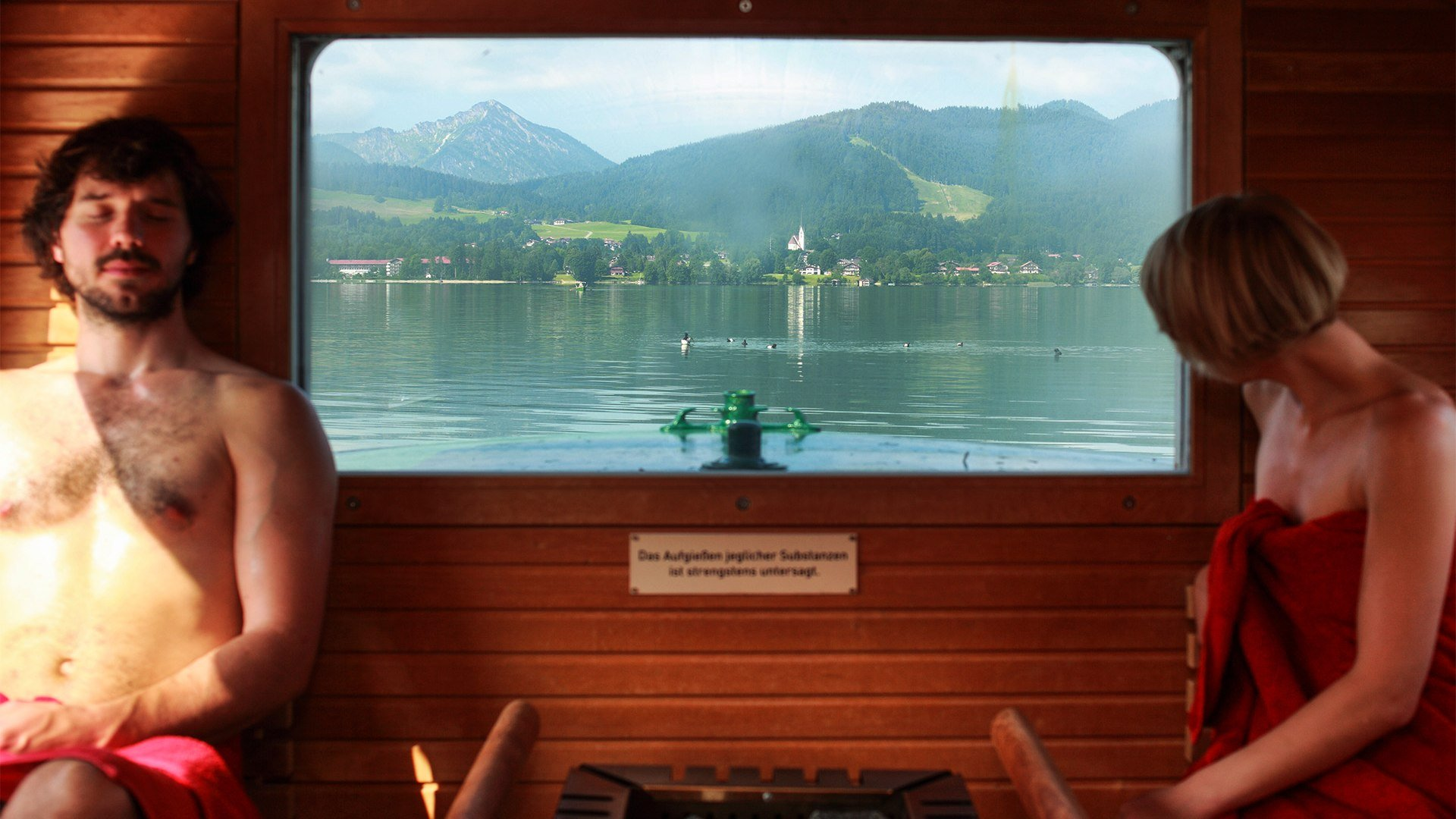 Sauna Wellness Oberbayern Tegernsee, © Simon Koy