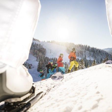 Skikurs Oberbayern Spitzingsee, © Dietmar Denger