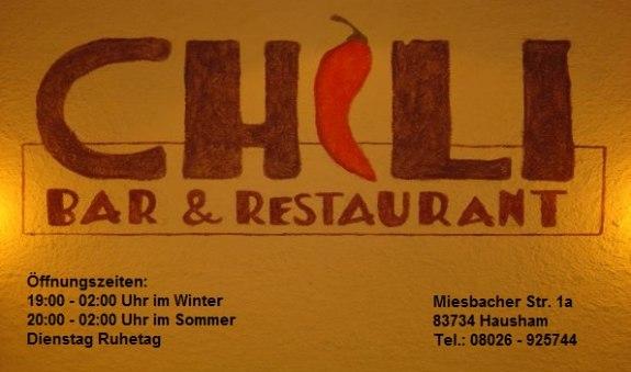 """""""Chili"""" Bar und Restaurant"""
