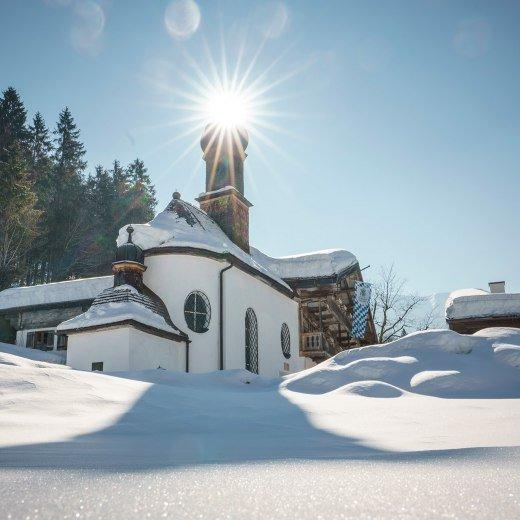 Wildbad Kreuth Winter, © Dietmar Denger