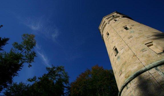 Der Aussichtsturm am Taubenberg