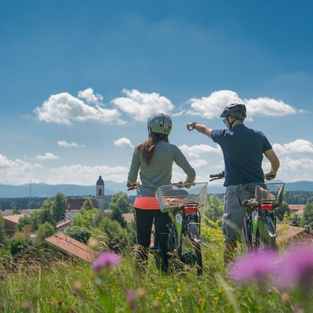 Radfahren Miesbacher Oberland, © Dietmar Denger