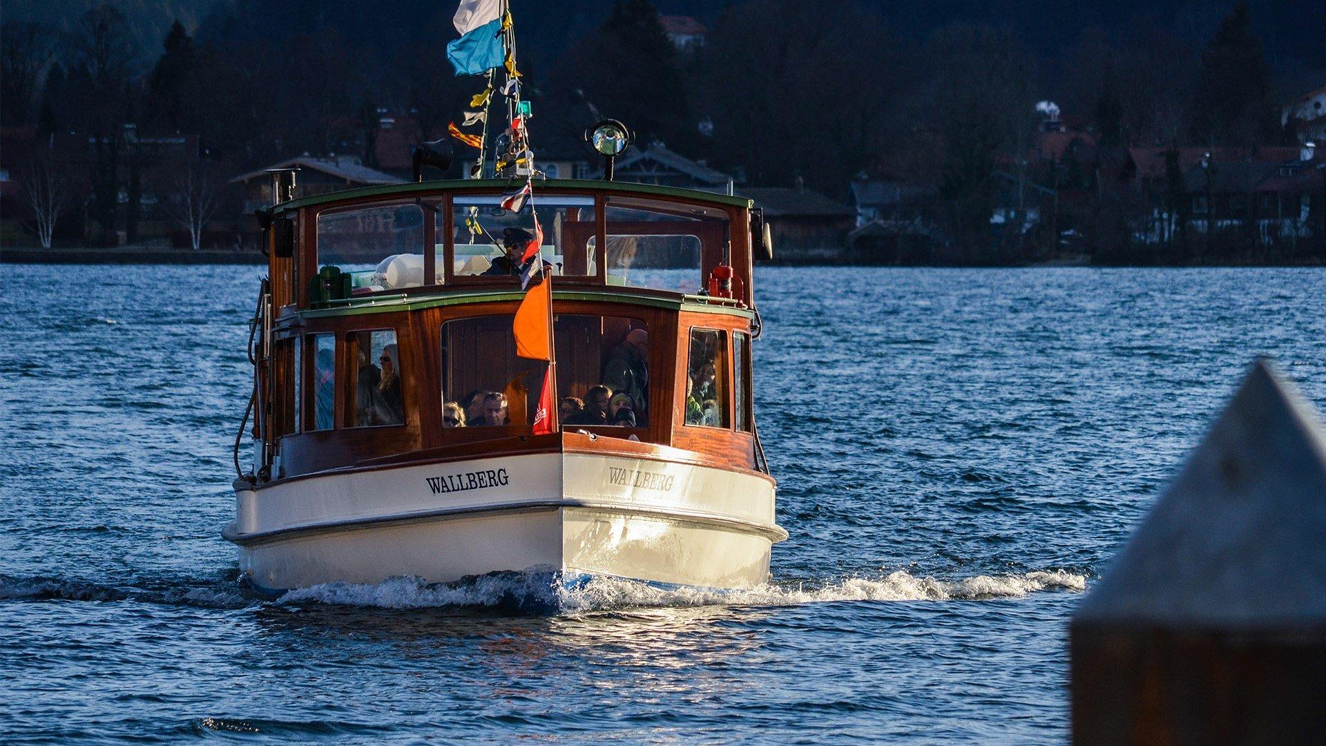 Tegernsee Schiff, © Florian Liebenstein