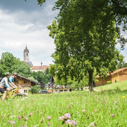 Radfahren Oberbayern Tegernsee Schliersee, © Dietmar Denger
