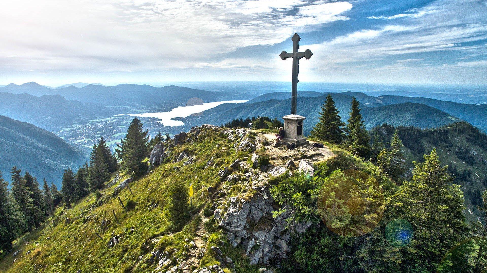 Bodenschneid Gipfel Tegernsee