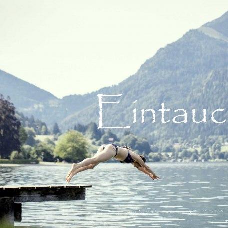 Eintauchen, © im-web.de/ Gäste-Information Schliersee in der vitalwelt schliersee