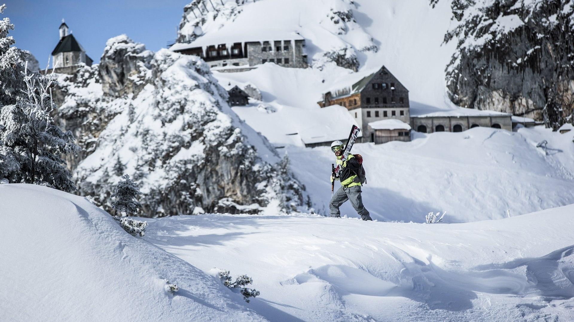 Skitouren Tegernsee Schliersee, © Hansi Heckmair