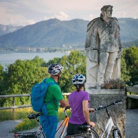 Radfahren Tegernsee, © Dietmar Denger