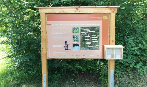 Bodenerlebnispfad Schwarzenbachtal, © Tourist-Information Kreuth