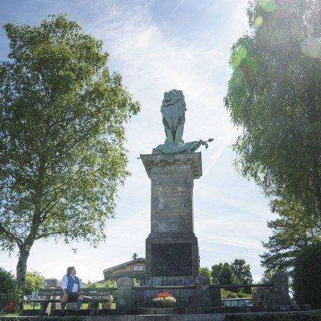 Waakirchen Löwendenkmal, © Dietmar Denger