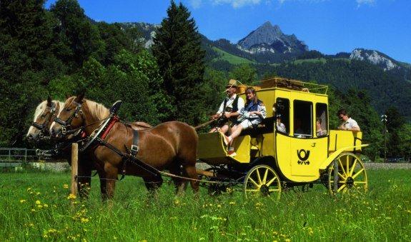 Postkutschen- und Pferdekutschenfahrten