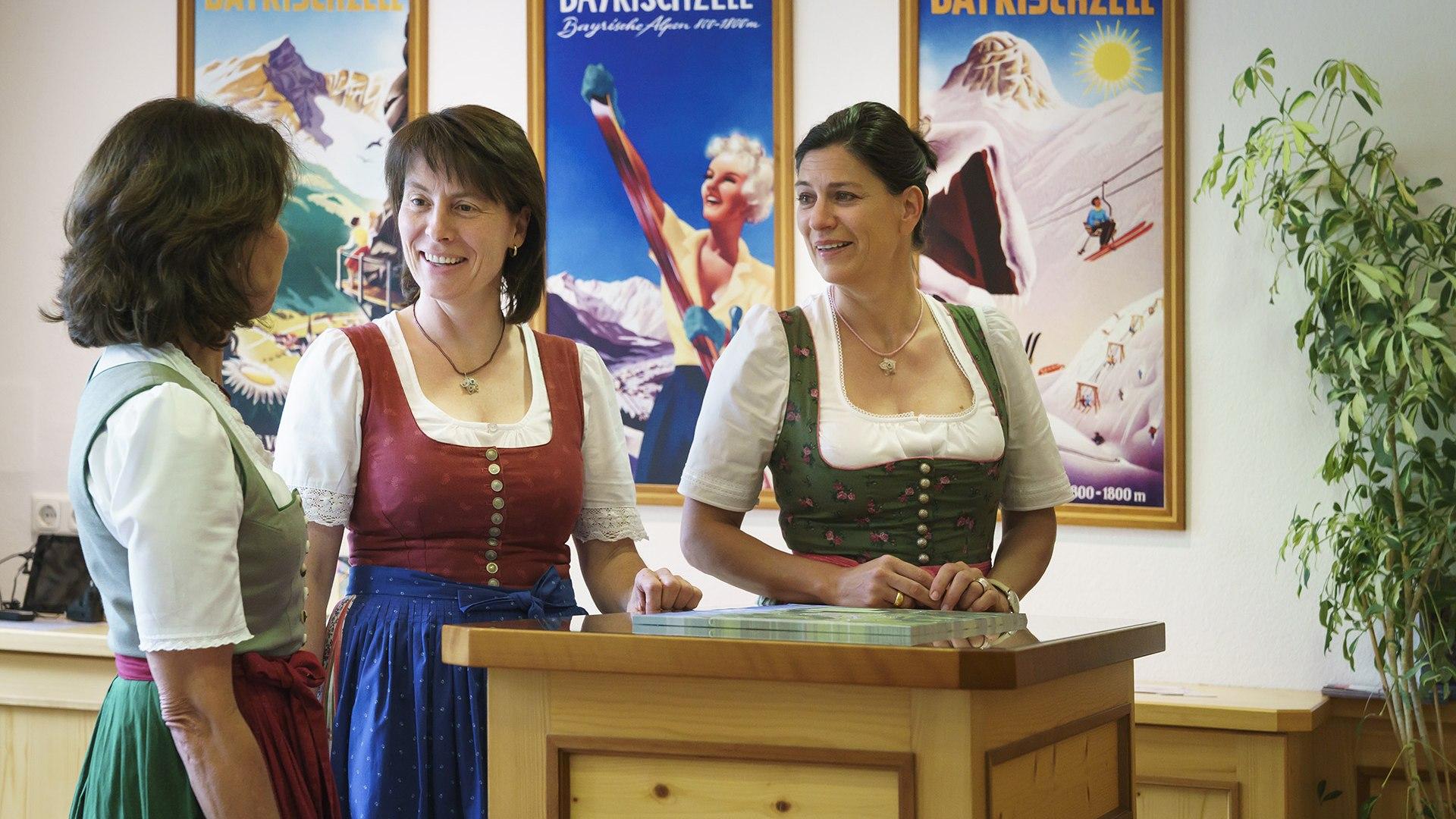 Team der Tourist Info Bayrischzell, © Dietmar Denger