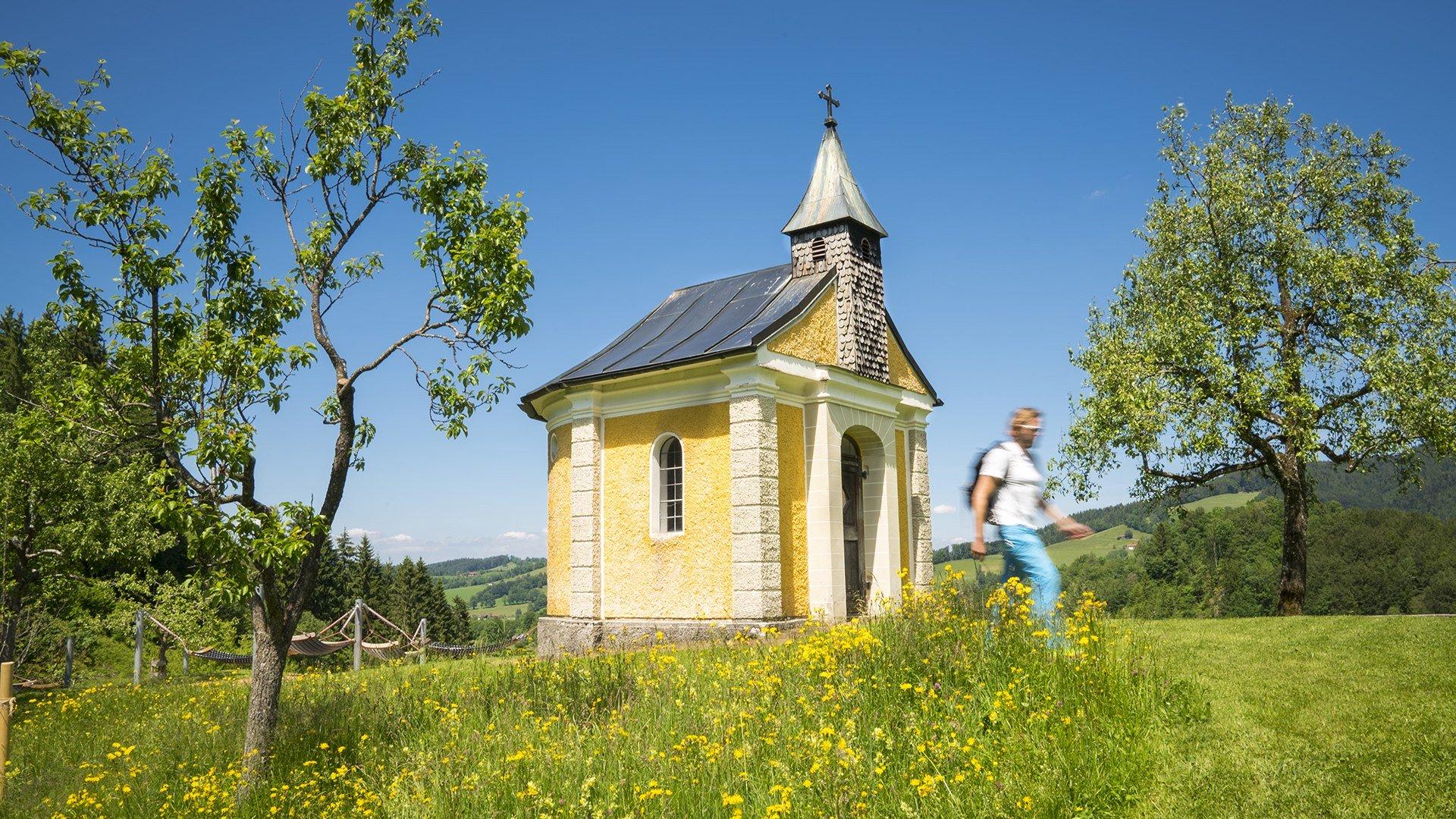 Idyllische Kapellen laden zum Verweilen ein, © Dietmar Denger
