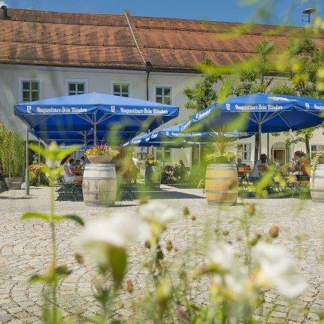 Biergarten Oberbayern Fischbachau, © Florian Liebenstein