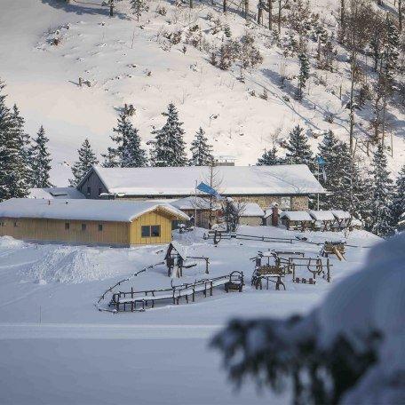 Albert Link Hütte Winter, © Dietmar Denger