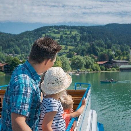 Schiff Schliersee Familie, © Dietmar Denger