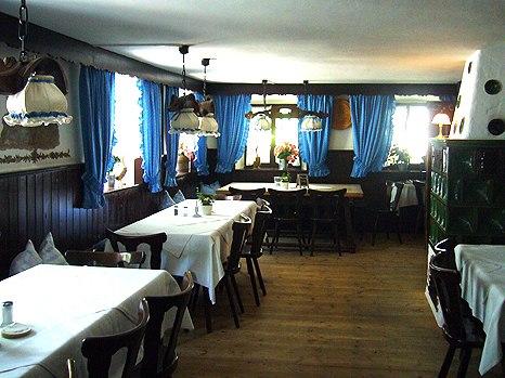 Waldrestaurant und Cafe Maxlmühle im Mangfalltal