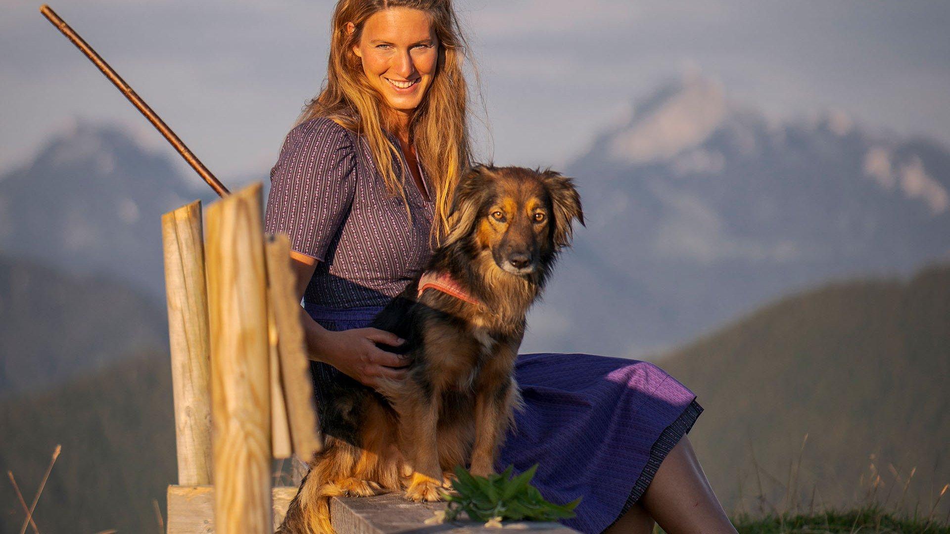 Sabrina Stadler Baumgarten Alm, © Dietmar Denger