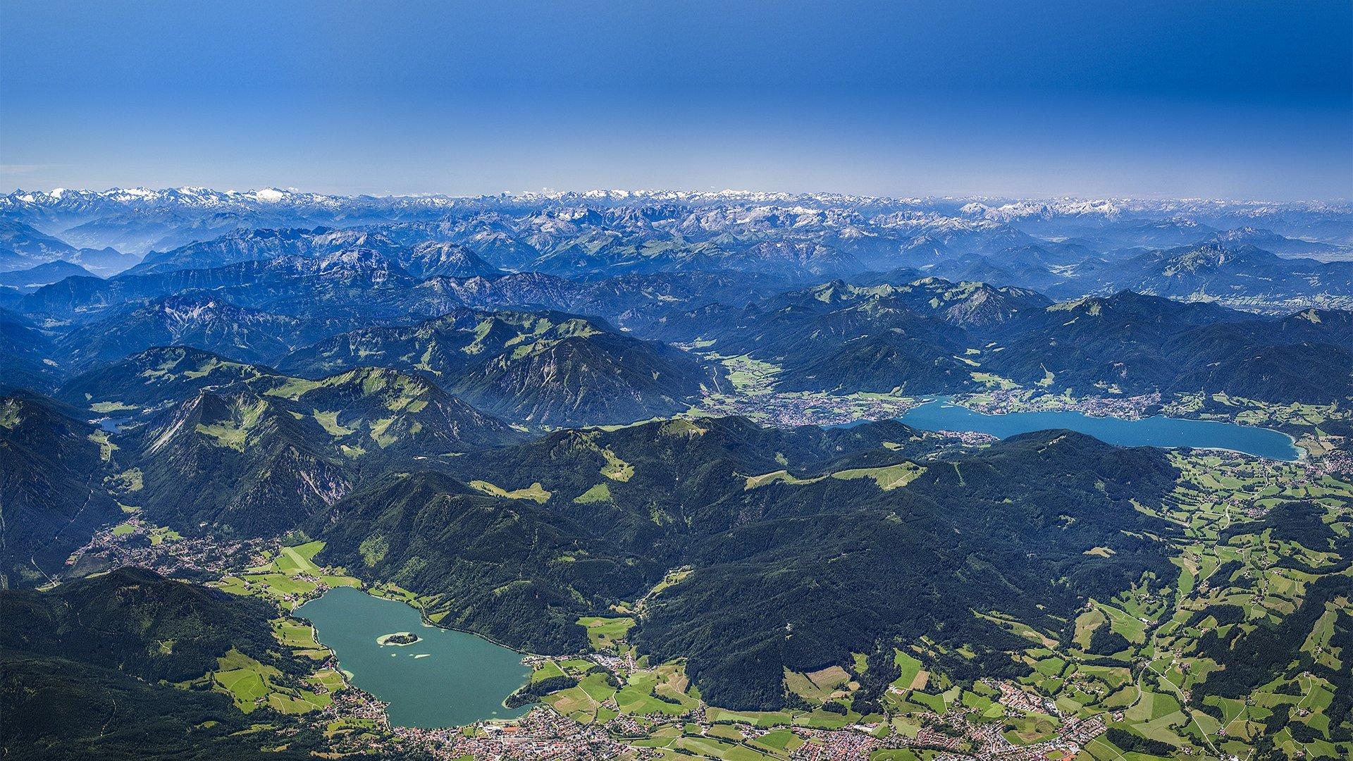 Tegernsee Schliersee Luftaufnahme, © bodenbender-luftbild.de
