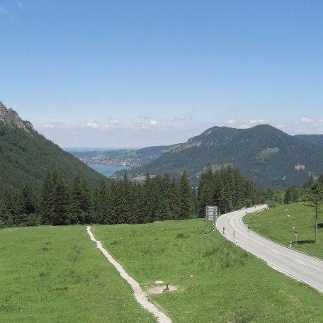 Freier Blick auf den Schliersee und Umgebung, © im-web.de/ Gäste-Information Schliersee in der vitalwelt schliersee