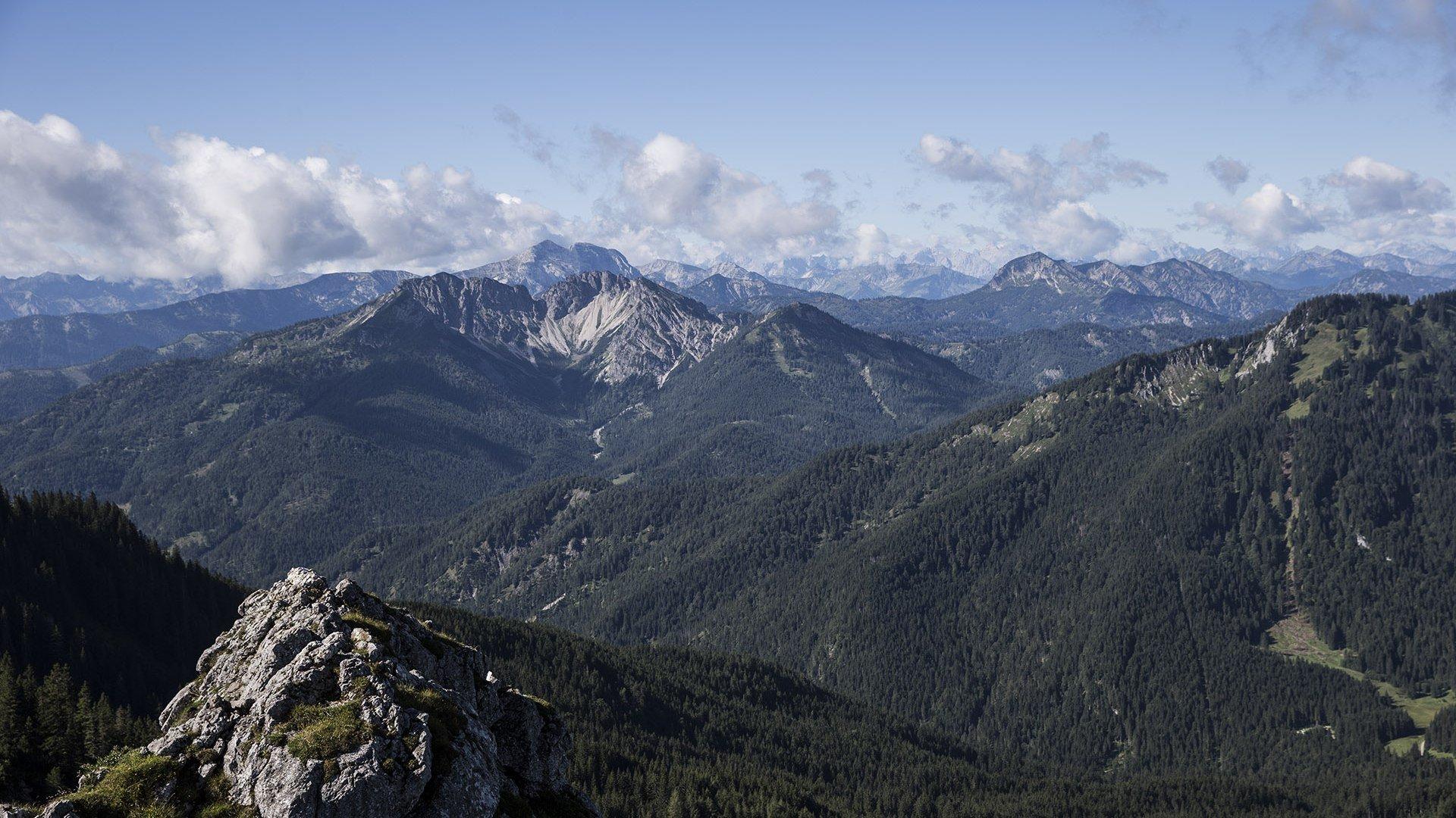 Traumkulisse Mangfallgebirge rund um Schliersee und Tegernsee, © Hansi Heckmair