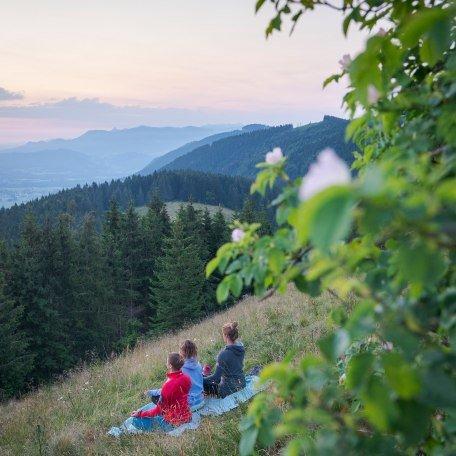 Yoga am Berg, Fischbachau, © Dietmar Denger