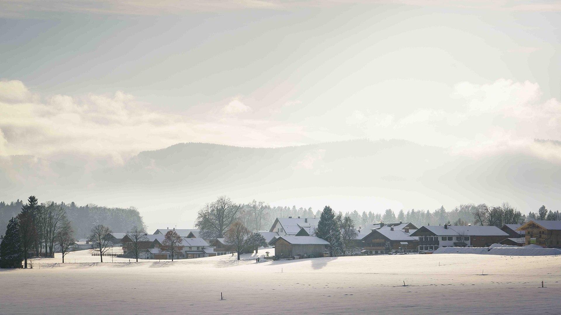 Winterlandschaft Bayern, © Dietmar Denger