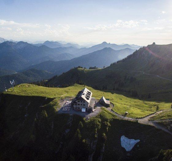 Hüttenübernachtung Bayern Rotwand