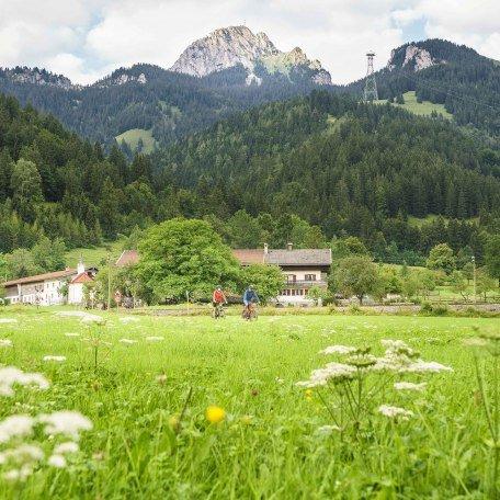 Am Fuße des Wendelsteins Radeln rund um Bayrischzell, © Dietmar Denger