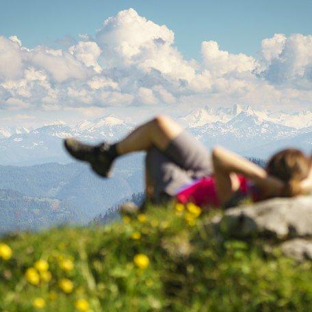 Genießen Sie die Ruhe und den Ausblick am Gipfel, © Dietmar Denger